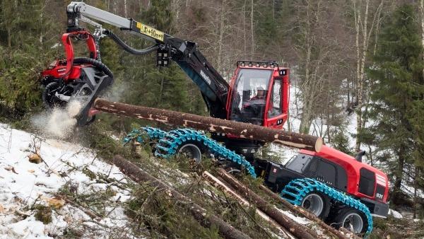 Komatsu Forest flyttar hela sin service- och verkstadsdel i Tvärålund.
